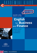 English for Business and Finance (könyv + virtuális melléklet)