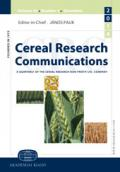 Cereal Research Communications